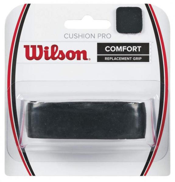 Owijki tenisowe bazowe Wilson Cushion Pro (1 szt.) - black 1P