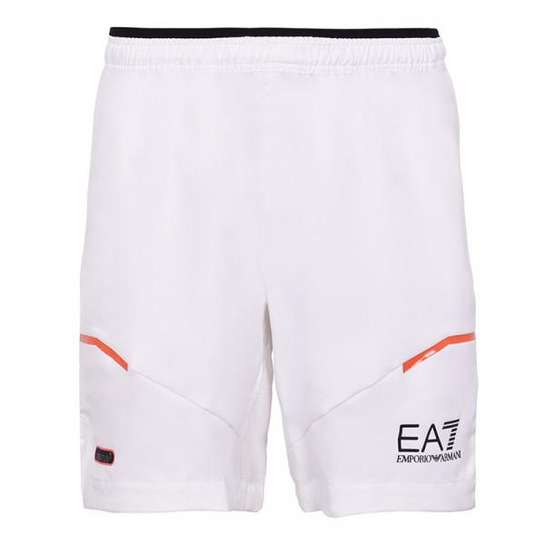 Teniso šortai vyrams EA7 Man Woven Shorts - white