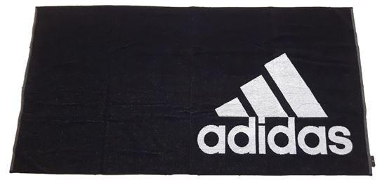 Ręcznik tenisowy Adidas Towel Large - black/white