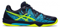 Buty do squasha Asics Gel-Fastball 3 - peacoat/safety yellow