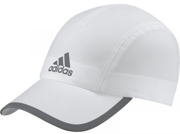 Adidas Run Climalite Cap OSFW - white/white/reflective silver