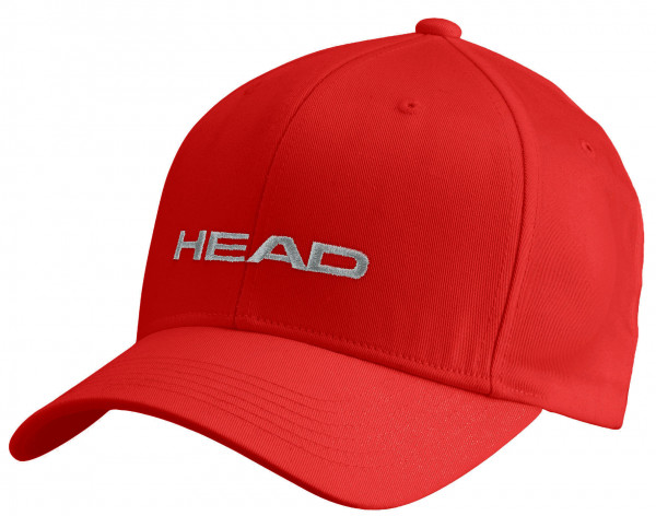 Czapka tenisowa Head Promotion Cap - red