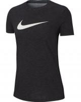 Nike Dry Tee DFC Crew W - black/heather/white