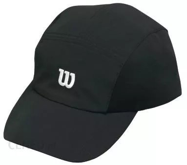 Wilson Rush Stretch Woven Cap - black