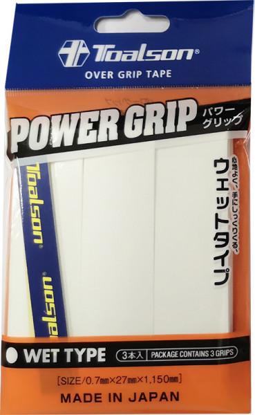 Viršutinės koto apvijos Toalson Power Grip (3 vnt.) - white