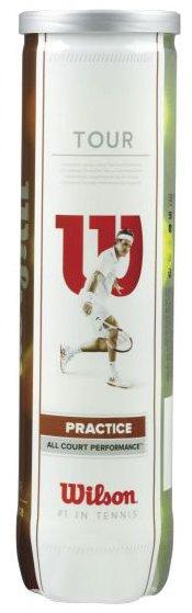 Karton piłek tenisowych Wilson Tour Practice - (4 szt.)