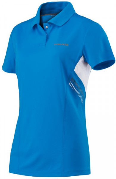 Polo marškinėliai moterims Head Club Technical Polo Shirt W - blue