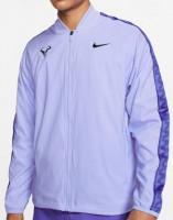 Męska bluza tenisowa Nike Court Rafa M Jacket - purple pulse/black