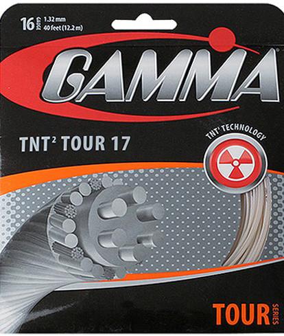 Naciąg tenisowy Gamma TNT2 Tour 17 (12,2 m)