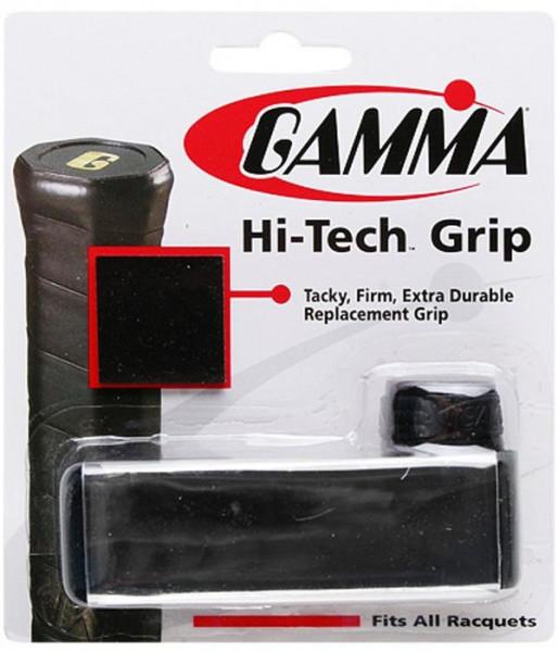 Owijka Tenisowa Gamma Hi-Tech Grip (1 szt.) - czarna-