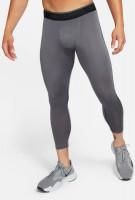 Kompressioonriided Nike Pro Dri-Fit 3QT Tight M - iron grey/black/black