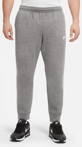 Meeste tennisepüksid Nike Sportswear Club Fleece M - charoal heathr/anthracite/white