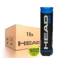 Teniso kamuoliukų dėžė Head Pro (Strefa Tenisa logo) - 18 x 4B