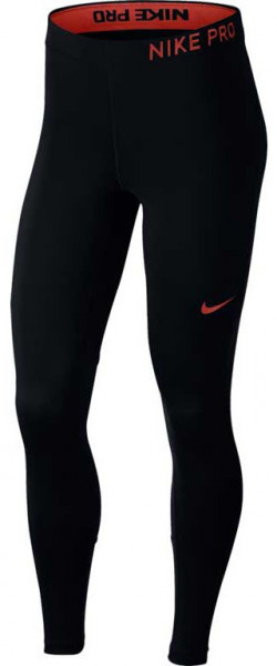 Nike Training Tight - black/black/rush coral