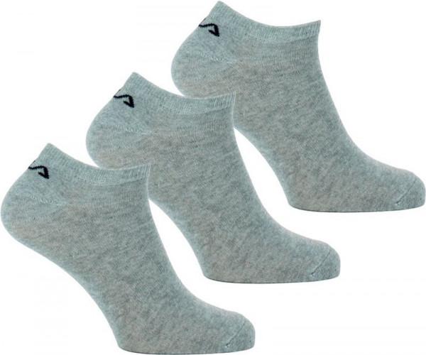 Skarpety tenisowe Fila Invisible Socks - 3 pary/grey