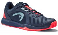 Head Sprint Team 3.0 2021 Clay Men - dark blue/neon red