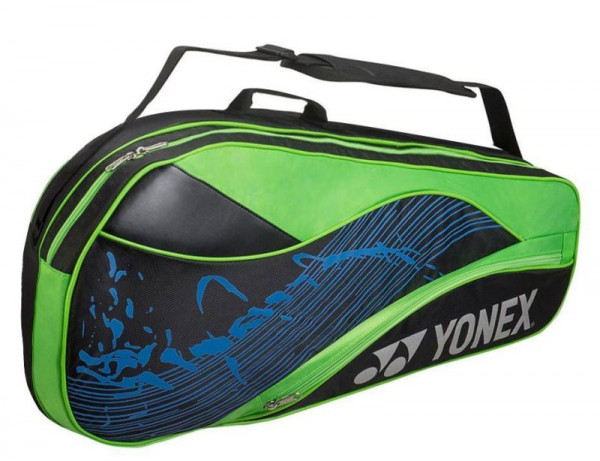 Yonex Racquet Bag 3 Pack - black/lime