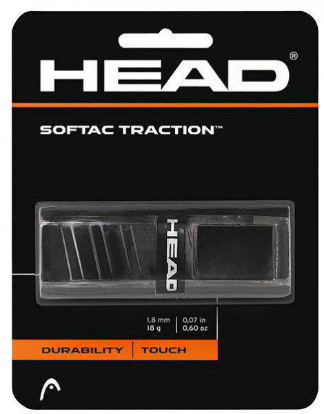 Owijki tenisowe bazowe Head Softac Traction black 1P