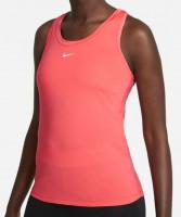 Marškinėliai moterims Nike Dri-Fit One Slim Tank W - magic ember/white