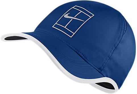 Nike Court U Aerobill Feather Light Cap - blue jay