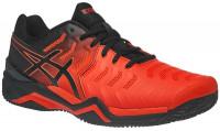 Męskie buty tenisowe Asics Gel-Resolution 7 Clay - cherry tomato/black