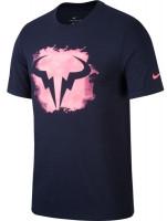 Męski T-Shirt Nike Court M Rafa Tee DB - obsidian