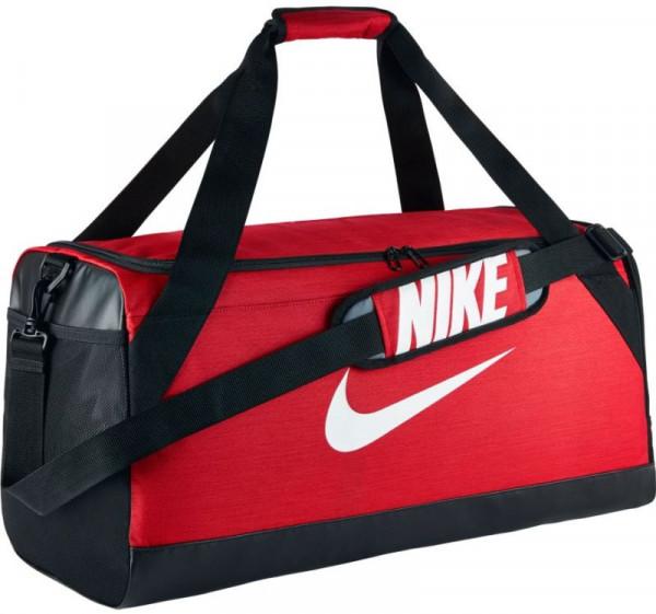 Torba tenisowa Nike Brasilia Medium Duffel - university red/black/white