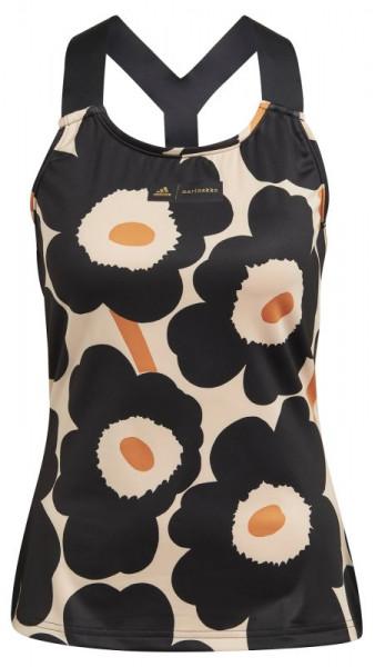 Marškinėliai moterims Adidas Tennis Marimekko Tennis Y Tank Top W - halo blush/black/gold metallic