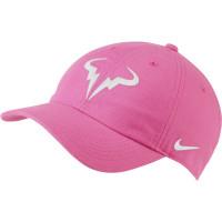 Czapka tenisowa Nike Rafa U Aerobill H86 Cap - digital pink/white