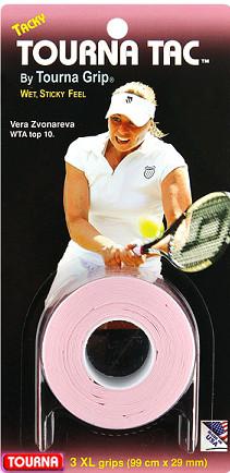 Owijki tenisowe Tourna Tac (3 szt.) - pink