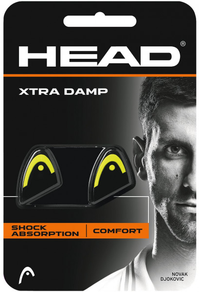 Wibrastopy Head Xtra Damp - black/yellow