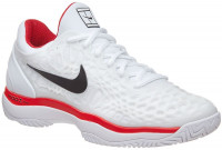 Nike Air Zoom Cage 3 - white/black/university red