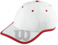 Wilson Baseball Hat - white/wilson red