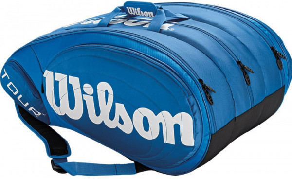 Wilson Tour 15 Pk Bag - blue