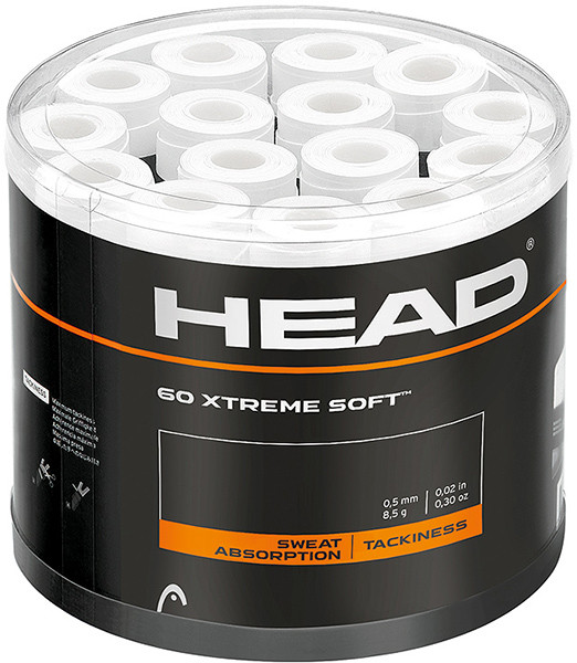 Overgrip Head Xtremesoft (60 szt.) - white