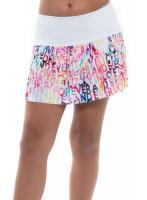 Tenisa svārki meitenēm Lucky in Love Techno Tropic Techno Love Pleated Skirt Girls - punch