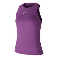 Damski top tenisowy Nike Court Tank Melbourne NT - purple nebula/off noir