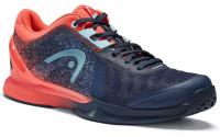 Damskie buty tenisowe Head Sprint Pro 3.0 Women - dressblue/coral