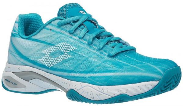 Damskie buty tenisowe Lotto Mirage 300 Clay W - blue bird/all white