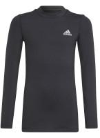 Koszulka chłopięca Adidas B ARW TCHFIT LS - black
