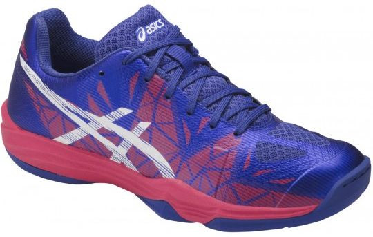 Buty do squasha Asics Gel-Fastball 3 - blue purple/white/rouge red