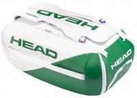 Tenisa soma Head White Proplayer Duffle Bag -  white/green