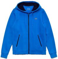 Męska bluza tenisowa Lacoste Men's SPORT Novak Djokovic Croc Logo Sweatshirt - blue/navy blue