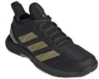 Damskie buty tenisowe Adidas Adizero Ubersonic 4 W - carbon/gold metallic/core black