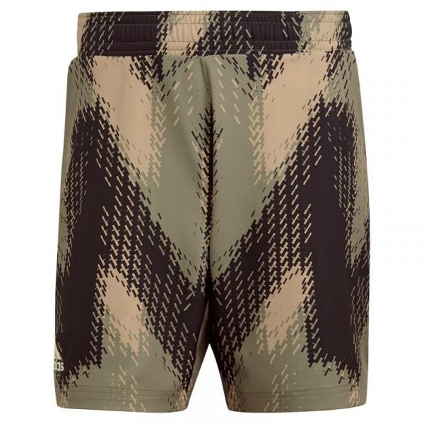 Meeste tennisešortsid Adidas Primeblue 7inch Pinted Shorts - orbit green/ambient blush