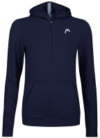 Ženski sportski pulover Head Lob Hoodie W - dark blue