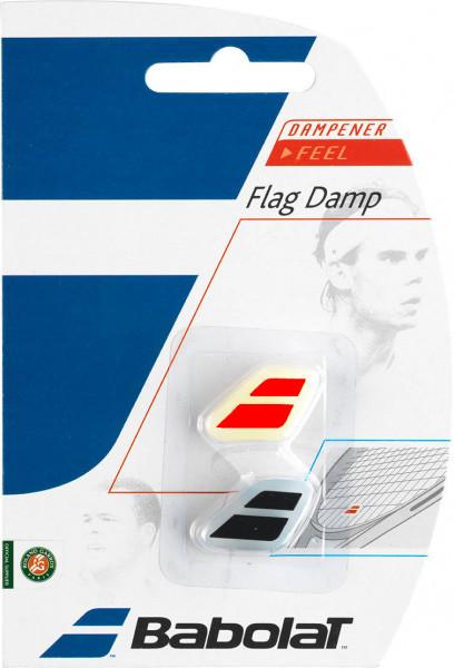 Vibration dampener Babolat Flag Damp - black/fluored