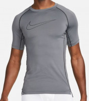 Kompresinė apranga Nike Pro Dri-Fit Tight Top SS M - iron grey/black/black