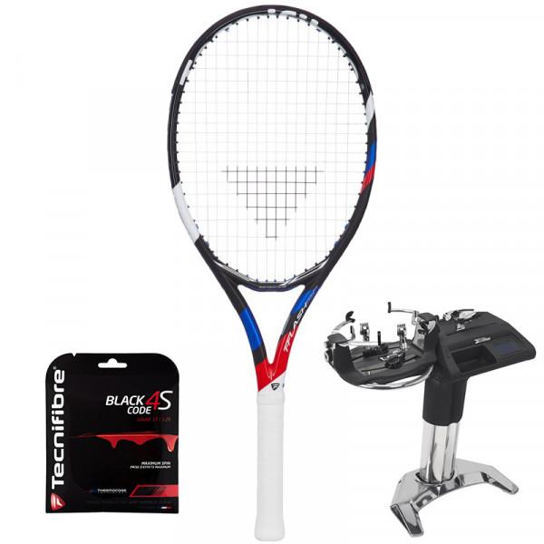 Tennisereket Tecnifibre T-Flash 270 PowerStab ATP + keel + spannimine