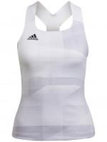 Tenisa tops sievietēm Adidas Tennis Tokyo Y-Tank Primeblue HEAT.RDY W - white/dash grey/black